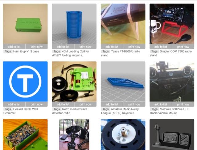 DXZone Yeggi  3D printable Models for Ham Radio