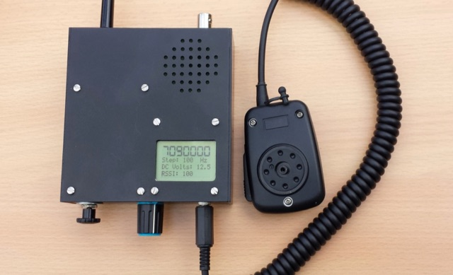 DXZone QRP Portable Rig for 80-40 meters