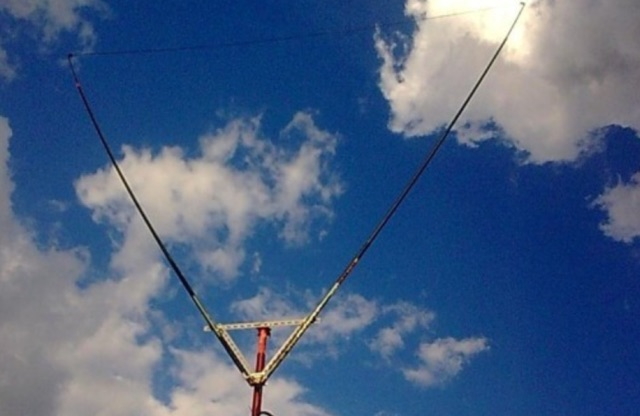 DXZone Single element Delta Loop Antenna