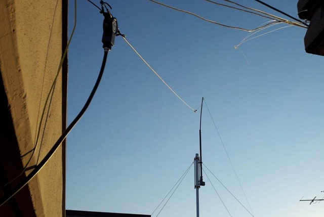160m Band Loaded Inverted L Antenna