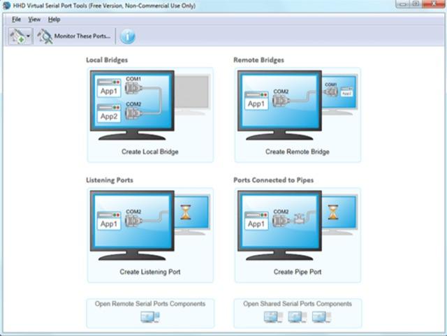 DXZone Free Virtual Serial Port