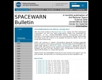 SPACEWARN Bulletin