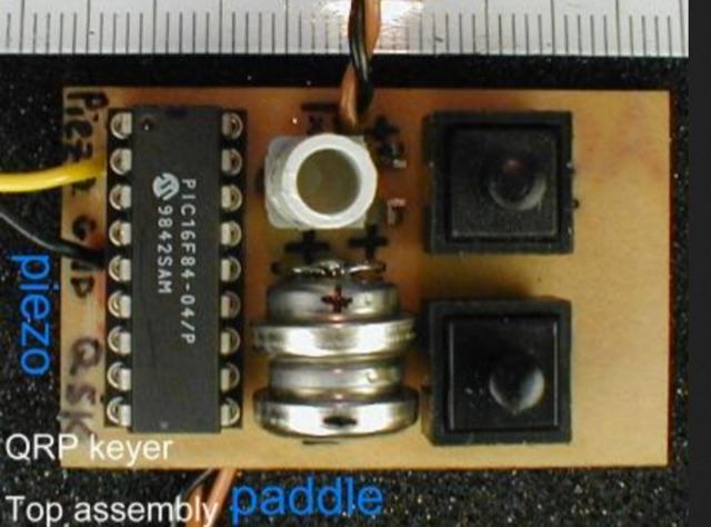 DXZone DL4YHF PIC-Keyer