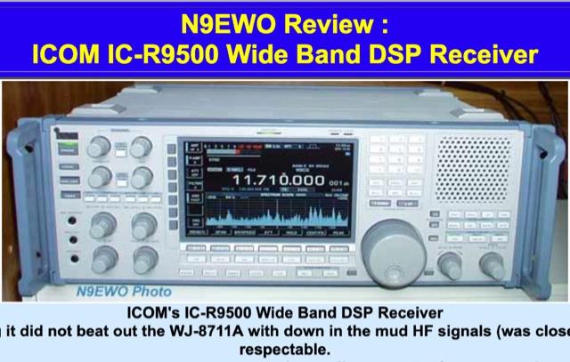DXZone ICOM IC-R9500 Review