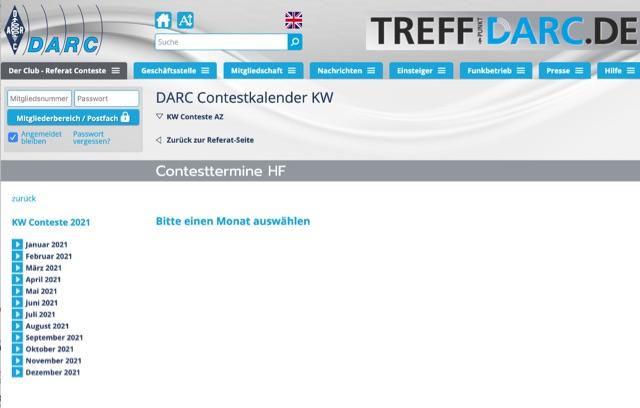 DXZone DARC Contest Calendar