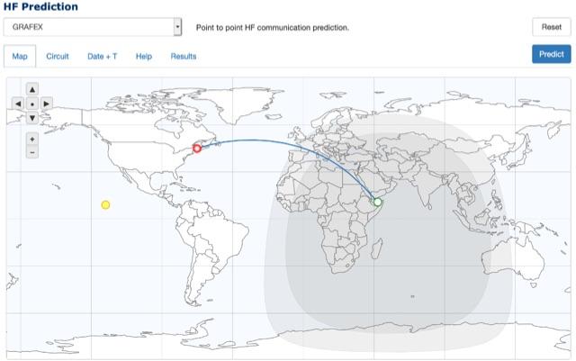 DXZone HF communication prediction tools
