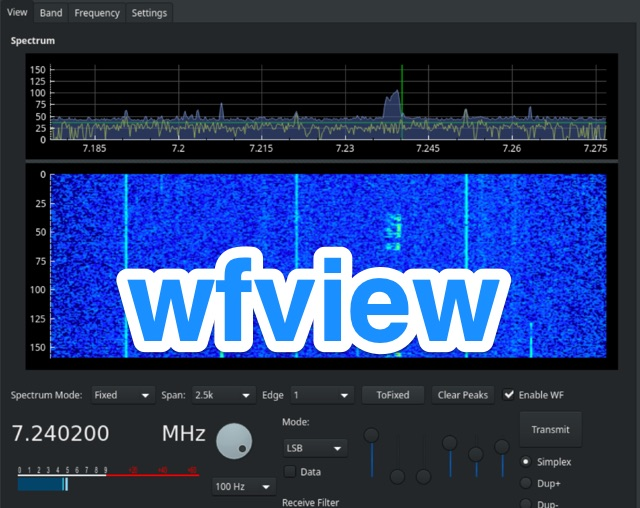 DXZone WFView  Open Source interface for Icom transceivers