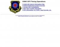 NAVSTAR GPS Timing Operations