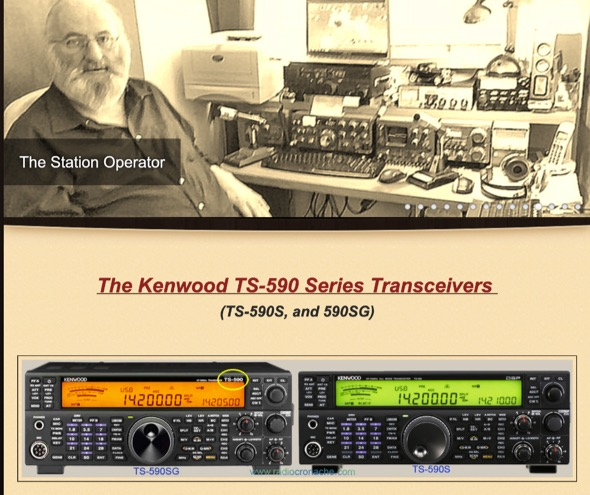 DXZone The Kenwood TS-590 Series Transceivers
