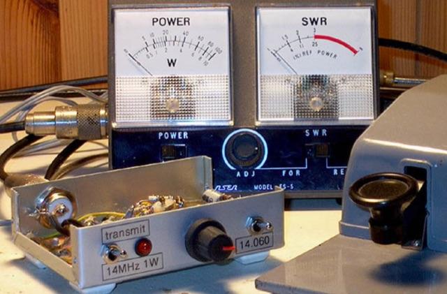 DXZone QRP 20m Transmitter