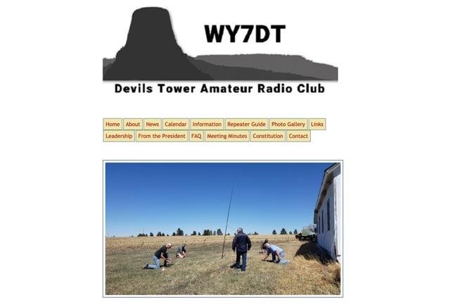 DXZone Devils Tower Amateur Radio Club