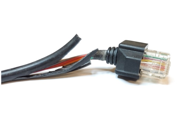 DXZone Alinco DR-605 Microphone Cable Repair