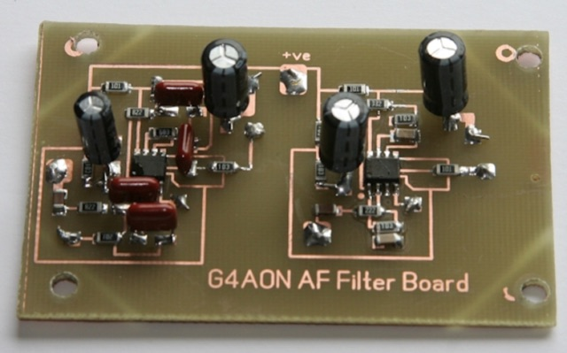 DXZone Audio CW Filter