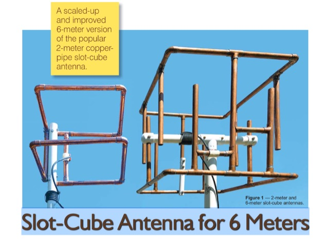 DXZone Slot-Cube Antenna for 6 Meters