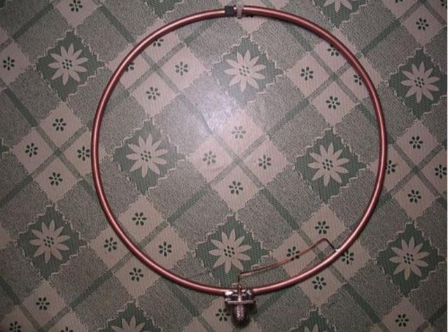 DXZone Magnetic Loop Antenna for 2 meters