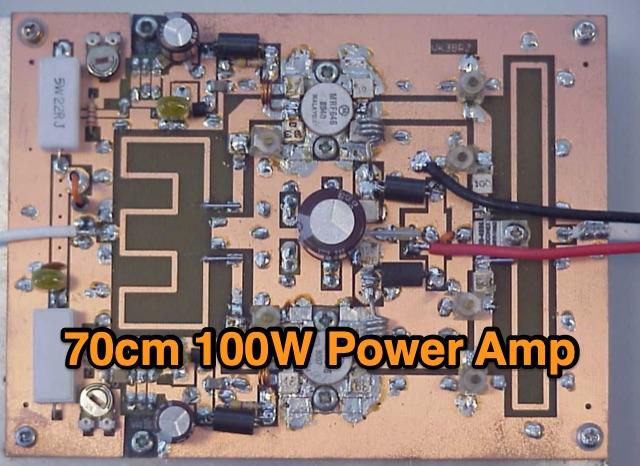 DXZone 432 MHz 100W RF Power Amplifier