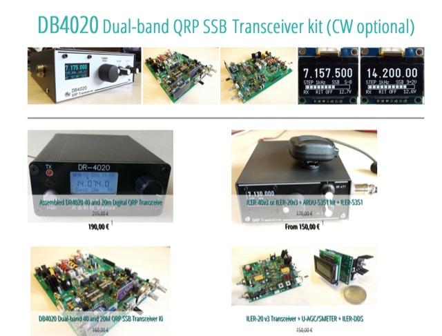 DXZone QRP Ham Radio Kits