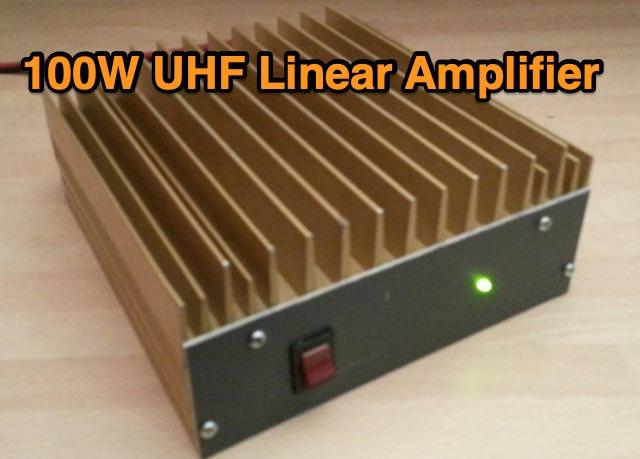 DXZone 100W UHF Linear Amplifier