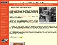 DXZone The Philco Repair Bench