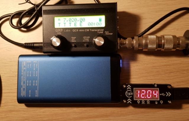 DXZone PD Powerbank for SOTA Radios