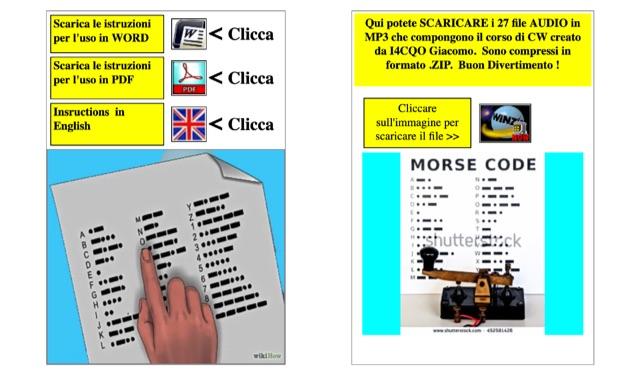 DXZone CW morse code course by I4CQO
