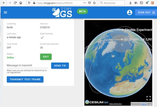 DXZone Receiving Cubesat Telemetry