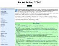 Packet Radio y TCP/IP