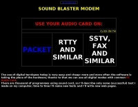 Soundblaster and Packet