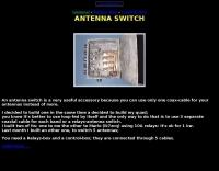 DXZone Antenna switch