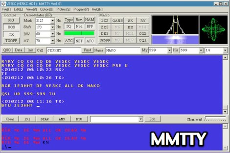 MMTTY - MM Hamsoft