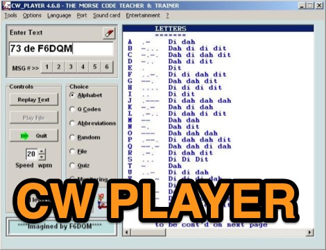 DXZone CW Player