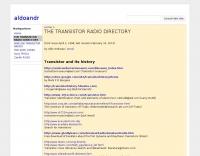 DXZone The transistor radio directory
