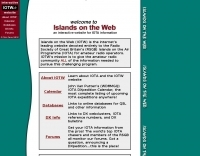 Islands on the Web
