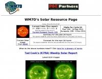 DXZone WM7D Solar Resources