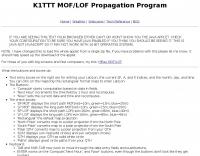 DXZone Propagation Prediction Tool