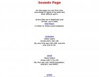 IK4WMH Sounds Page