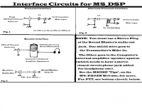 Interface for MS_DSP