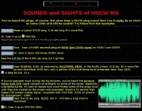 HSCW ping sounds