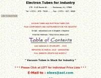 Electron Tubes