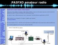 DXZone PA3FXO projects