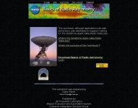 Basics of Radio Astronomy