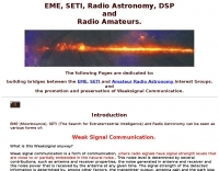 EME, SETI, Radio Astronomy, DSP, and Radio Amateurs