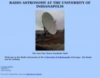 Radio Astronomy at the University of Indianapolis