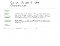 DXZone Caltech Submillimeter Observatory (CSO)