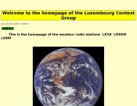 DXZone LX5A Luxembourg Contest Group