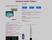 DXZone Amateur radio clipart and animations