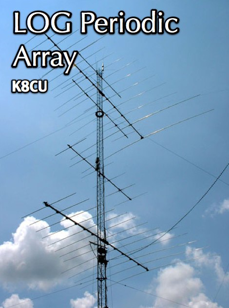 K8CU Log Periodic Antenna