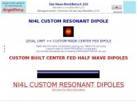 DXZone NI4L Dipoles