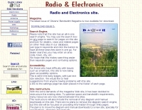 Radio and electronics site