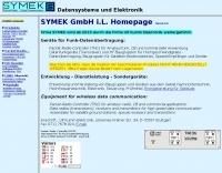 DXZone SYMEK Packet-Radio homepage